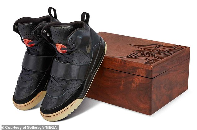 The sale marks the highest publicly recorded price for a sneaker sale and the first pair of sneakers to top $1 million.