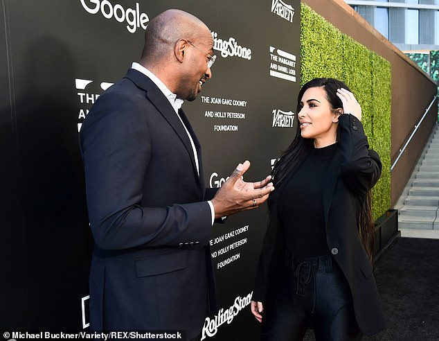 Changing the world: In 2018, Kardashian and Jones worked closely together to sucessfully pardon Alice Johnson from a life sentence stemming from a 1996 conviction on nonviolent drug charges