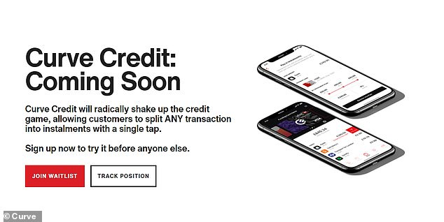It is now trialling Curve Credit, which will let people pay back purchasers in instalments