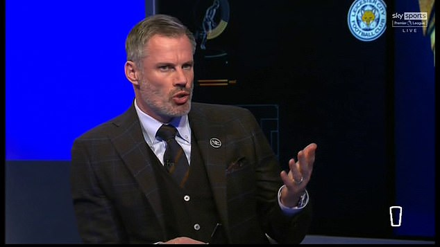 Jamie Carragher also revealed he will be taking part in this weekend's social media blackout