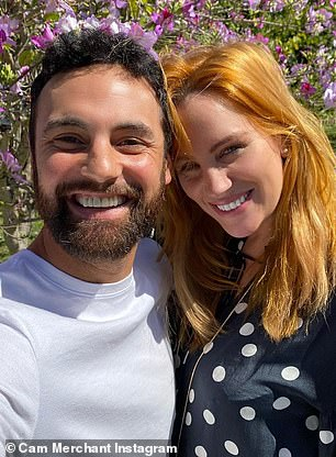 Pictured: Cameron Merchant and Jules Robinson