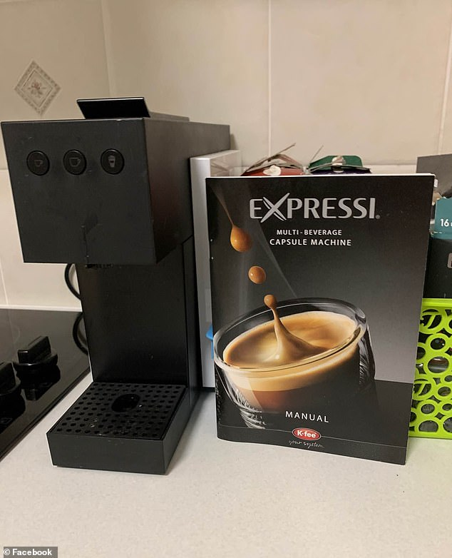 The Espressi capsule machine priced at $79.99 will be available from Wednesday April 28 as part of the supermarket chain's weekly 'Special Buys'