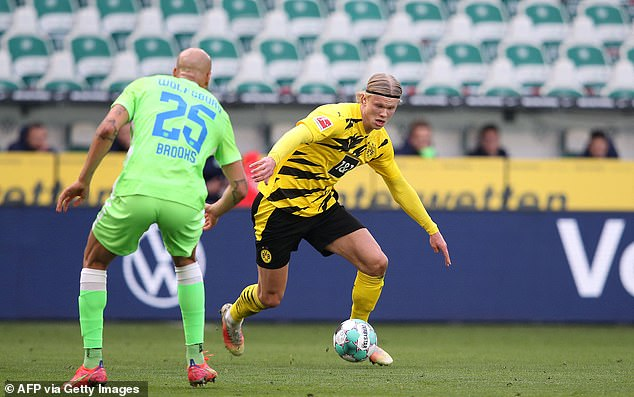 Haaland has 37 goals so far this season and is one of Europe's most sought-after players