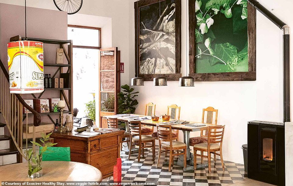 Ecocirer Healthy Stay is in Soller in the north of Mallorca. The book enthuses: 'Between orchards, orange, almond, and olive trees, the power of the land and all the organic ingredients it yields — the experience of staying here is heavenly and therapeutic'