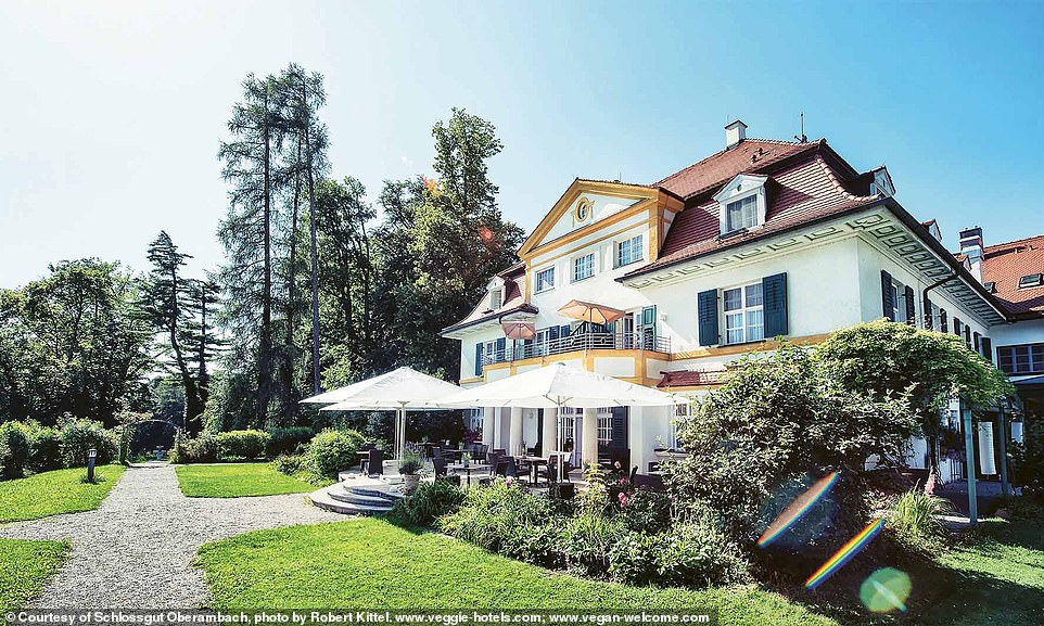 The 15th-century mansion hotel Schlossgut Oberambach in Bavaria, Germany. The book's authors explain that 'the wireless network is switched off after 11pm' and that 'shielded electrical cables offer a radiation-free atmosphere, paving the way for restful sleep'