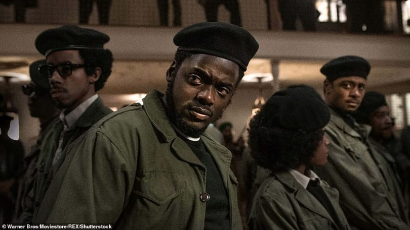 Amazing: Daniel was awarded the prize for his critically-acclaimed role asFred Hampton in Judas and the Black Messiah