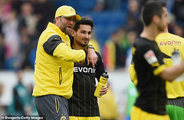 Ilkay Gundogan signed for Borussia Dortmund in 2011 under former manager Jurgen Klopp