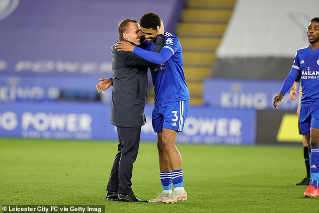 Brendan Rodgers (left) has already acknowledged that he needs to protect Fofana in this run