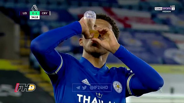 Wesley Fofana was able to break his Ramadan fast during Monday night's game against Crystal Palace after both sides agreed to pause play in the 35th minute to mark sundown in Leicester