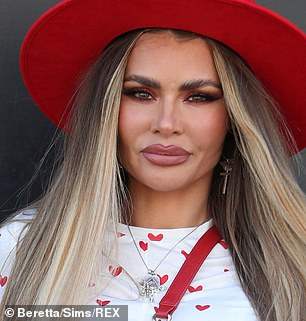 Face changes: Last week, Chloe revealed she was having her fillers drained and showcased the results during filming on Saturday