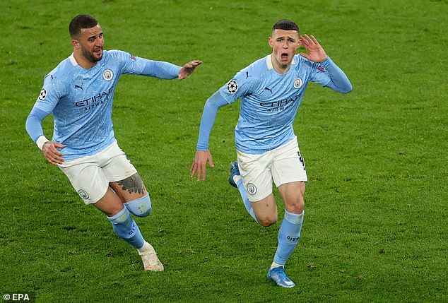 Phil Foden scored a crucial goal as Man City battled past Borussia Dortmund in the last-eight