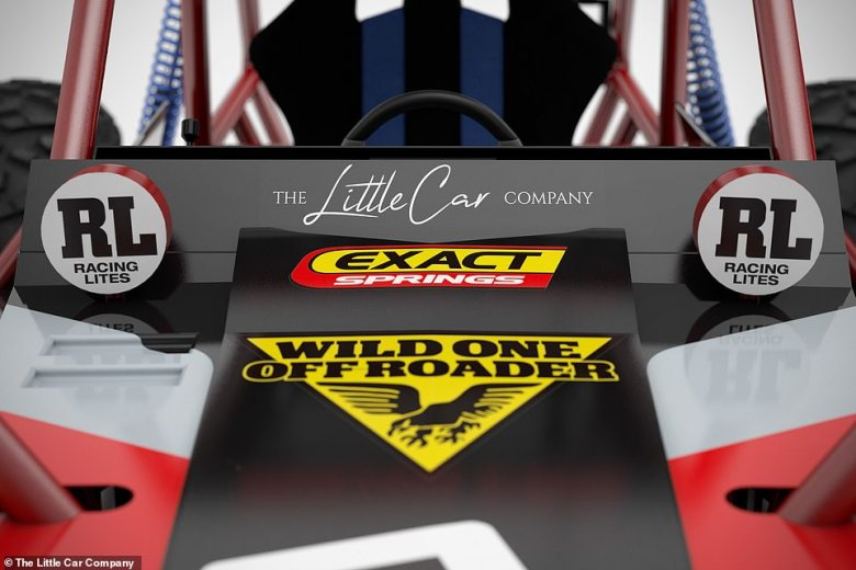 The Little Car Company will produce a supply of 8/10th scale Wild One Max buggies and will provide additional packs that will make it road legal for use