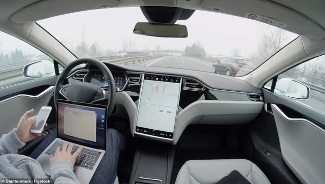 While ALKS is functioning there is no requirement for the user to monitor the driving environment, meaning they could be allowed to undertake tasks such as reading emails on the infotainment screen - so long as they could easily re-take control of the vehicle