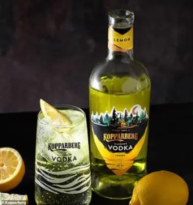Rob Salvesen of Kopparberg said they developed a range of vodkas because they weren't satisfied with the 'subtly flavoured' options currently being sold