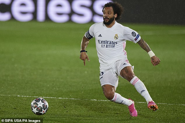 It was a bad night for Marcelo, who was Madrid's least inspiring performer against Chelsea