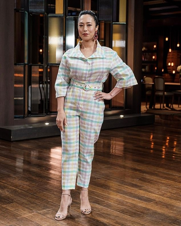 Targeted:Last year, another TV star and Channel 10 stablemate was targeted by racist trolls. Jock Zonfrillo came to the defence of fellow MasterChef judge Melissa Leong, when a troll made a vile racial slur about her Asian heritage