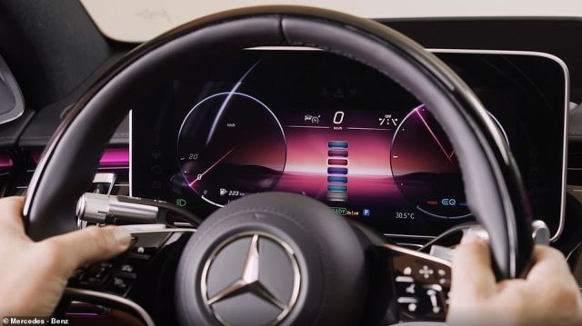 Mercedes has a system capable of Level 3 automation. Its 'Drive Pilot' system can be activated by the driver via controls on the steering wheel. The system uses a combination of cameras, radar and 'Lidar' (light detection and ranging optical sensors which measure distance and speed) along with precise Wi-Fi positioning and a high-definition digital map to 'drive itself'