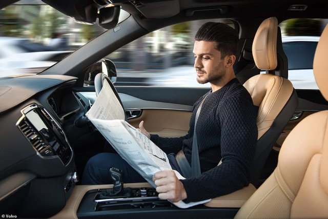 Automated Lane Keeping Systems will be able to take over driving on motorways, suggesting it will allow users to do other things, such as watch a movie on an infotainment screen or read a newspaper