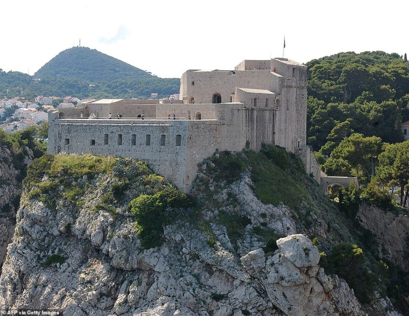 Past: Much of Game of Thrones was filmed in Dubrovnik's city walls, with the city becoming a hotspot for fans of the show