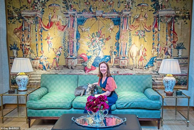 It was fourteen months ago – back in February 2020 – that officials first became alarmed by renovations to the No 11 flat.Pictured: Lulu Lytle's collection