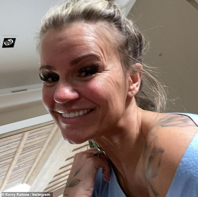 'After losing EVERYTHING 13 years ago... I've finally bought a house!!' Kerry Katona revealed on Instagram on Wednesday she has invested in a home up north... after being declared bankrupt twice