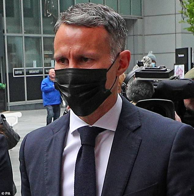 The Wales manager (seen outside court today) has said he will deny all the charges against him