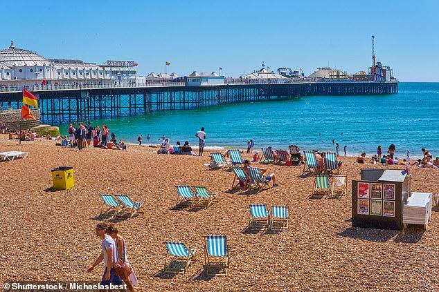 Brighton es un destino popular para los viajeros este verano, junto con Londres y Newquay.