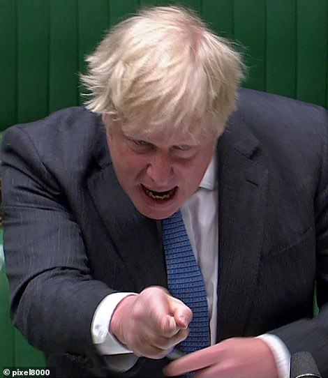 Boris Johnson today flatly denied that he had suggested he would rather 'let bodies pile up' than trigger another lockdown last Autumn