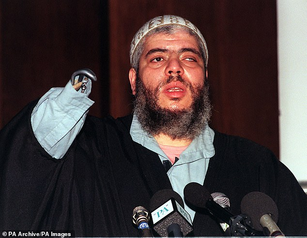 Abu Hamza was an imam at Finsbury Park mosque before he was convicted of terror offences in 2006