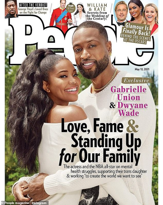 Family focused: They recently covered People magazine and inside spoke about raising their children to feel loved and supported, and 'free to be who they are'