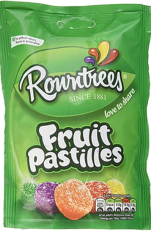 Fruit Pastilles are currently produced at Nestle's factory in Newcastle-upon-Tyne