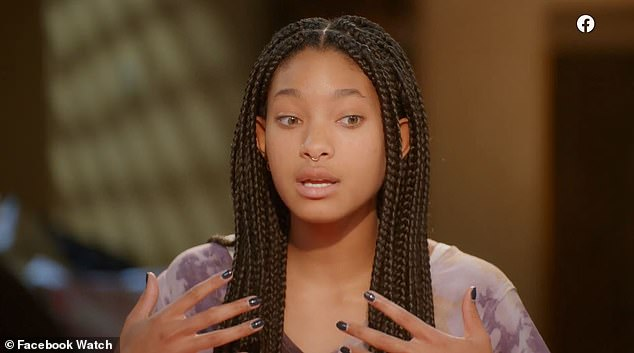 The 20-year-old daughter of Will Smith said on Red Table Talk: 'I feel like the main foundation is the freedom to be able to create a relationship style that works for you and not just stepping into monogamy because that's what everyone around you says is the right thing to do'