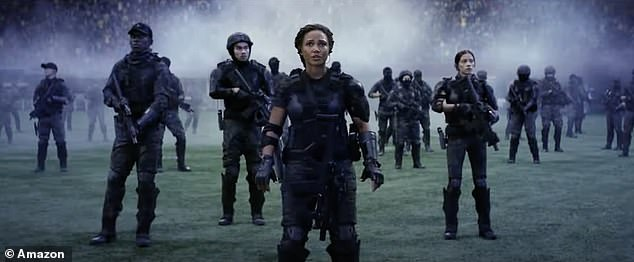 All hands on deck: 'We are fighting a war, 30 years into the future', a female soldier declares