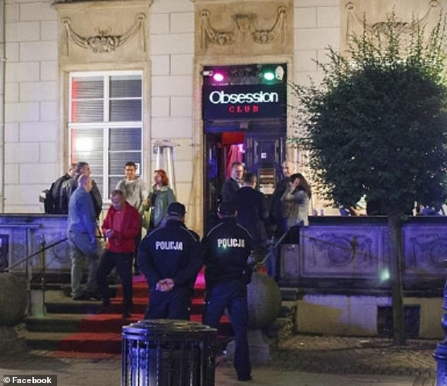 Then, some officers went to Club Obsession, where the alleged drugging took place