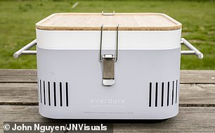 Everdure Cube by Heston Blumenthal, £159, kettler.co.uk Weight: 7kg