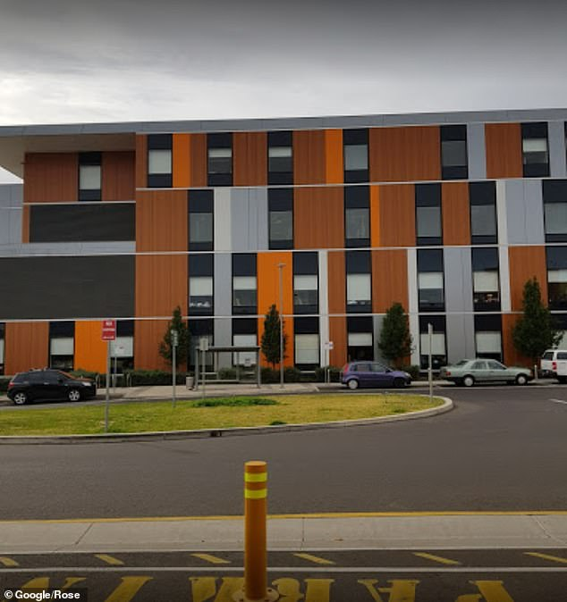 A 'fit and healthy' 55-year-old man died in Tamworth Base Hospital (pictured) on April 21