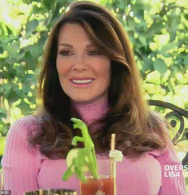 Hard at work: She recently did a talk show on E!  called Overserved With Lisa Vanderpump, where, as the title suggests, guests get cocktails