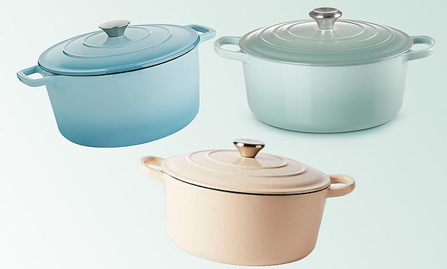Home cooks are struggling to spot the difference between three trendy cast iron pots, with prices ranging from $24 to $550.