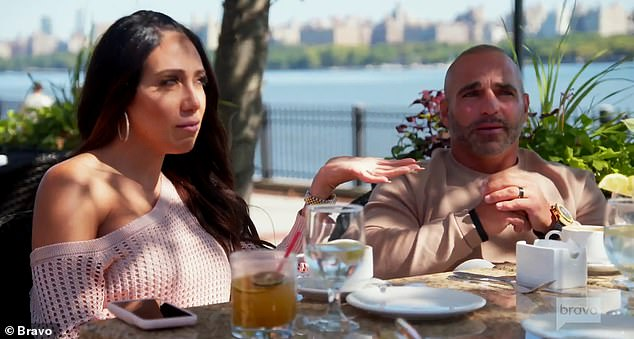 Good guy:'He's a good guy. You know what I like about him? He wears his heart on his sleeve. Tells you how he feels. He has emotion. They're in love with each other,' Joe said of Teresa and her new boyfriend