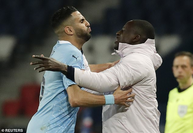 Manchester City hero Riyad Mahrez admits he 'MISSED' match-winning free-kick against PSG - News Chant UK