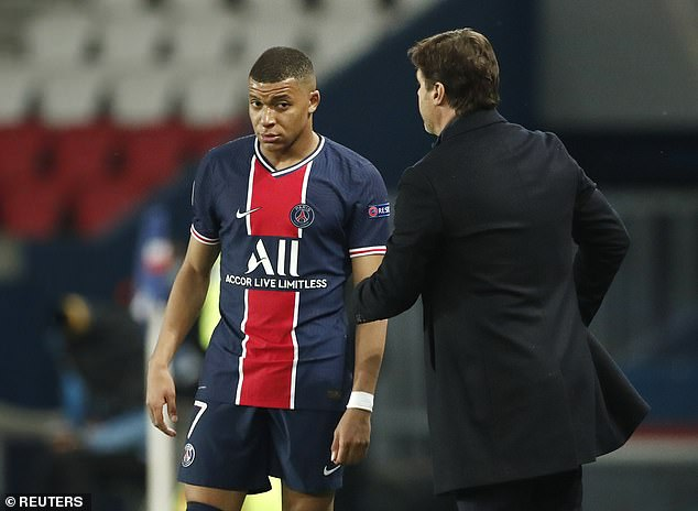 Mauricio Pochettino (right) was at a loss to explain why PSG's stars failed to fire at their best