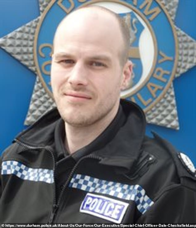 The conmen foolishly rang Durham Constabulary's Specials Chief Officer Dale Checksfield