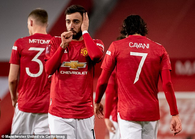 Bruno Fernandes scored a free-kick winner during their last meeting - in the FA Cup in January