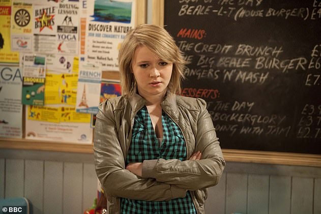 Flashback: The actress is well known for her portrayal of Lucy Beale on EastEnders from 2004 to 2010 (pictured)