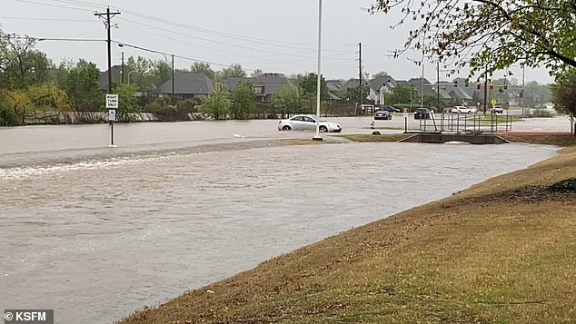 Forecasters said Arkansas could see additional three inches of rain, which can cause flash flooding
