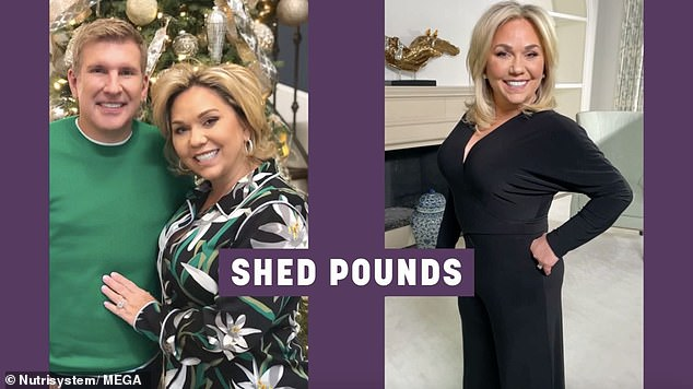 Bright future: 'I have lost 20 pounds on Nutrisystem and it has given me a new outlook on life. I'm focused on being physically, mentally and emotionally healthy in every way,' she said