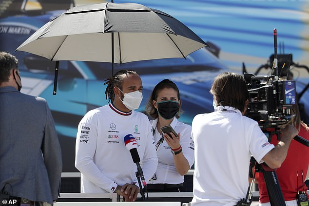 Lewis Hamilton insisted he is 'fully supportive of the initiative' to boycott social media