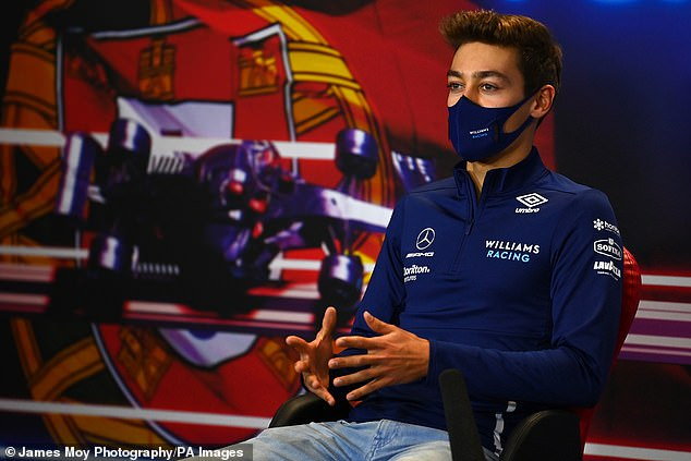 George Russell said his actions 'were not my true self' after clashing with Valtteri Bottas
