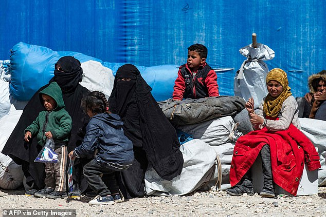 The British girl, who was trafficked to Syria at the age of 12, is among former UK nationals waiting in camps (stock picture)