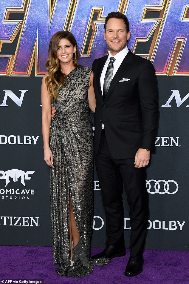 Couple: Pratt, 41, shares his baby girl with second wife Katherine Schwarzenegger, 31, whom he married in June 2019 (pictured in April 2019)